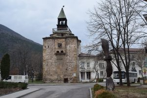 The Meshchi Tower in Vratsa